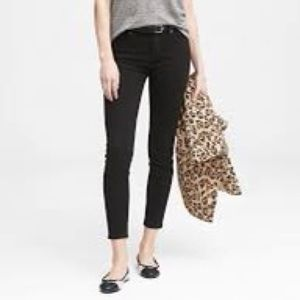 Banana Republic Ankle Skinny Jean With Distressing